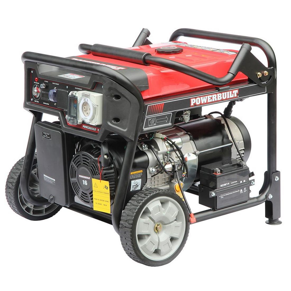 3500W 7hp Petrol Powered Generator