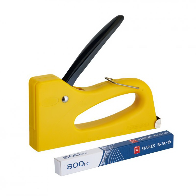 Lightweight Plastic Staple Gun Tacker 6-8mm