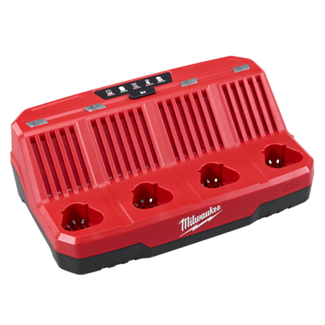 M12 Sequential 4 Bay Battery Charger 4.0Ah