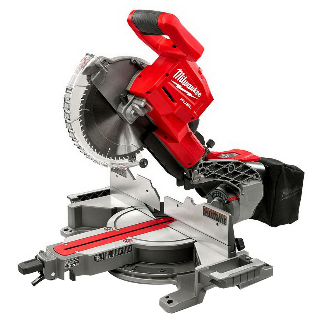M18 FUEL REDLITHIUM Cordless Dual Bevel Sliding Compound Mitre Saw Skin Only 18V 254mm 4000rpm
