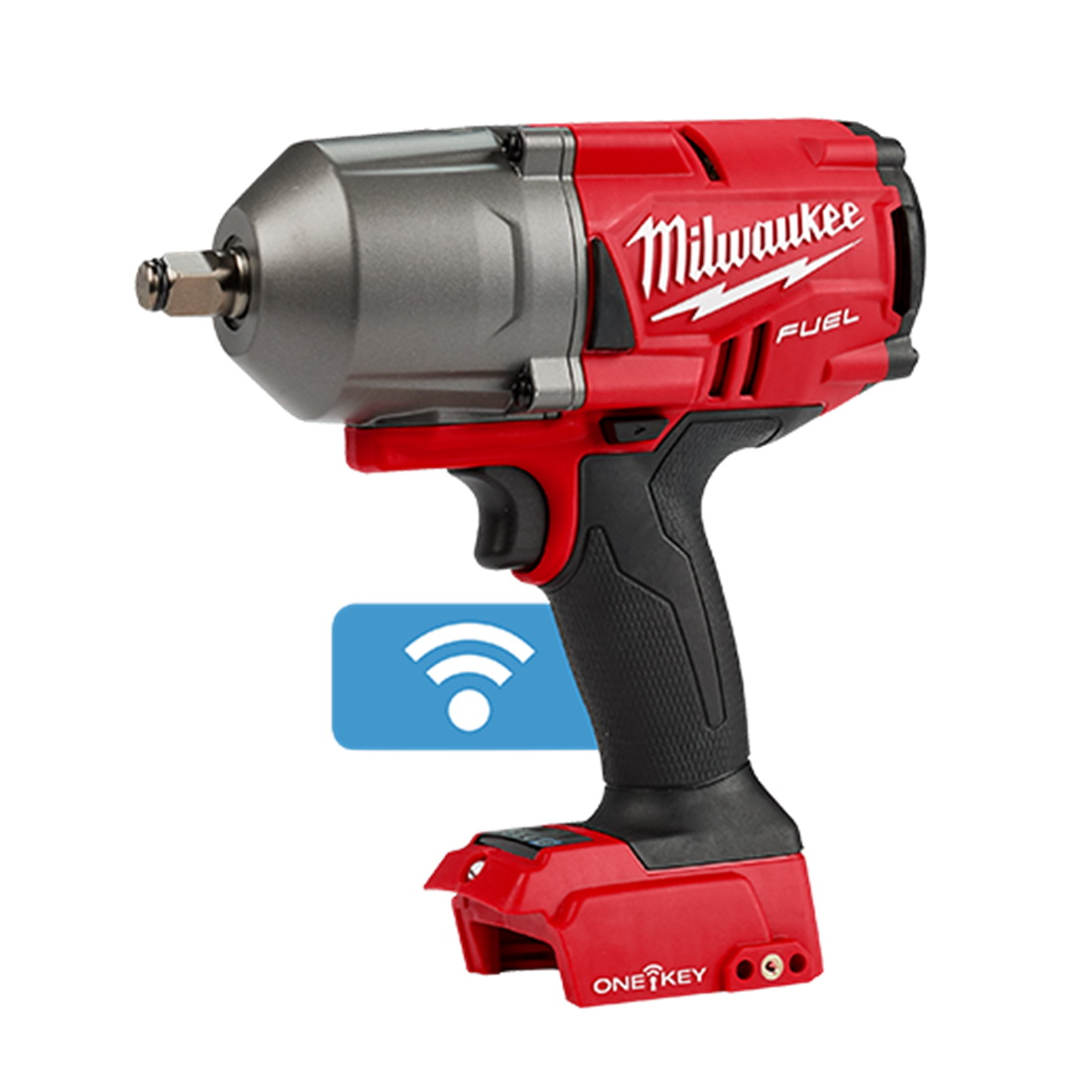 M18 FUEL ONE-KEY High Torque Impact Wrench Skin Only with Friction Ring 1/2inch 0-2100ipm M18ONEFHIWF12-0