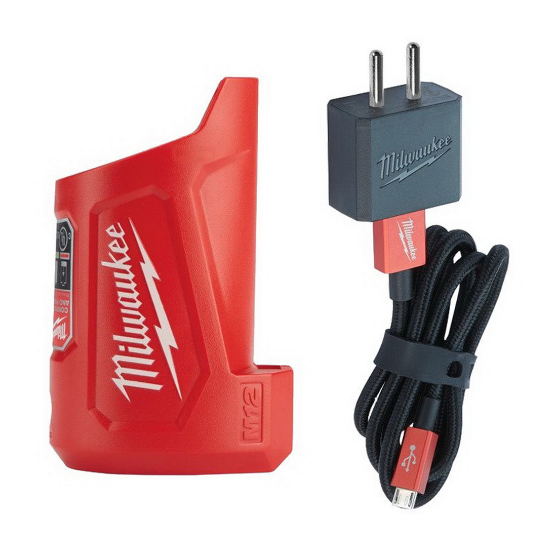 M12 Compact Travel Charger and Power Source