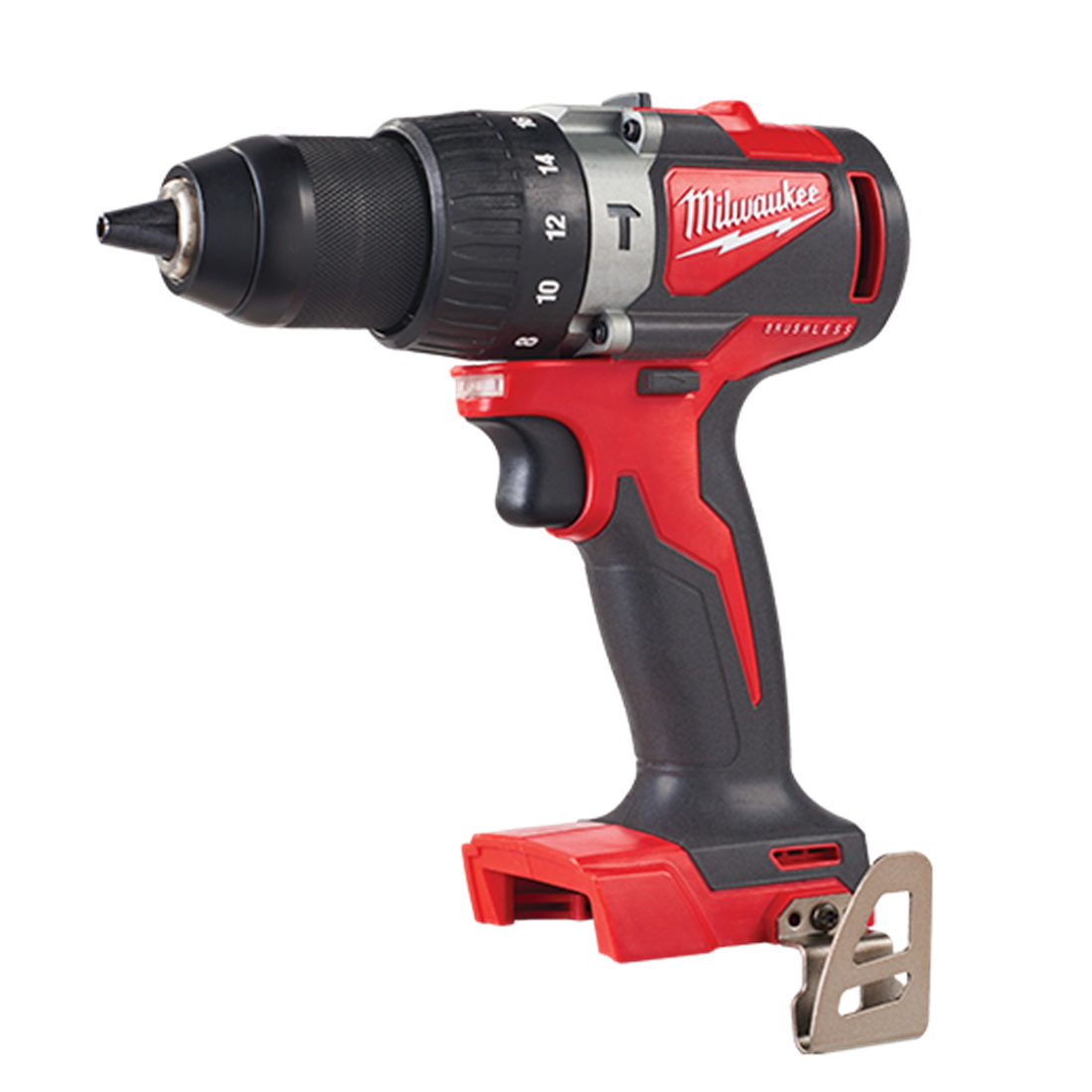 M18 Compact Cordless Brushless Hammer Drill/Driver 13mm (Tool Only)