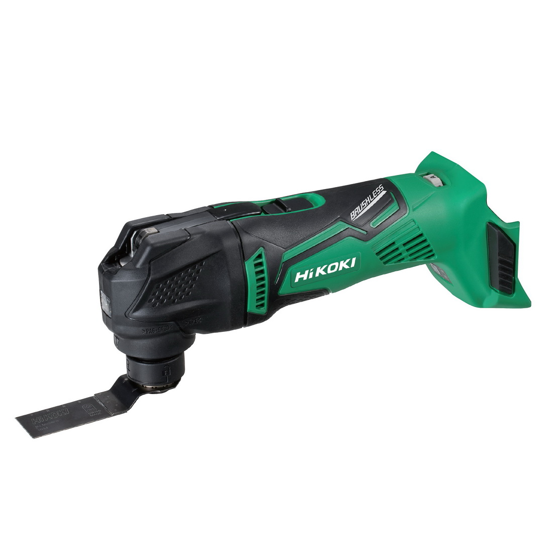 18V Lithium-Ion Cordless Brushless Multi Tool Skin with 12-Piece Accessory Set