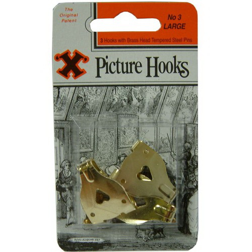 Double Picture Hook No.4 X-Large