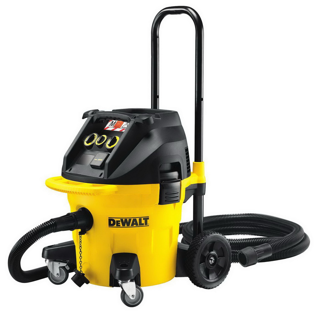 1400W 38L Class M Wet/Dry Dust Extractor