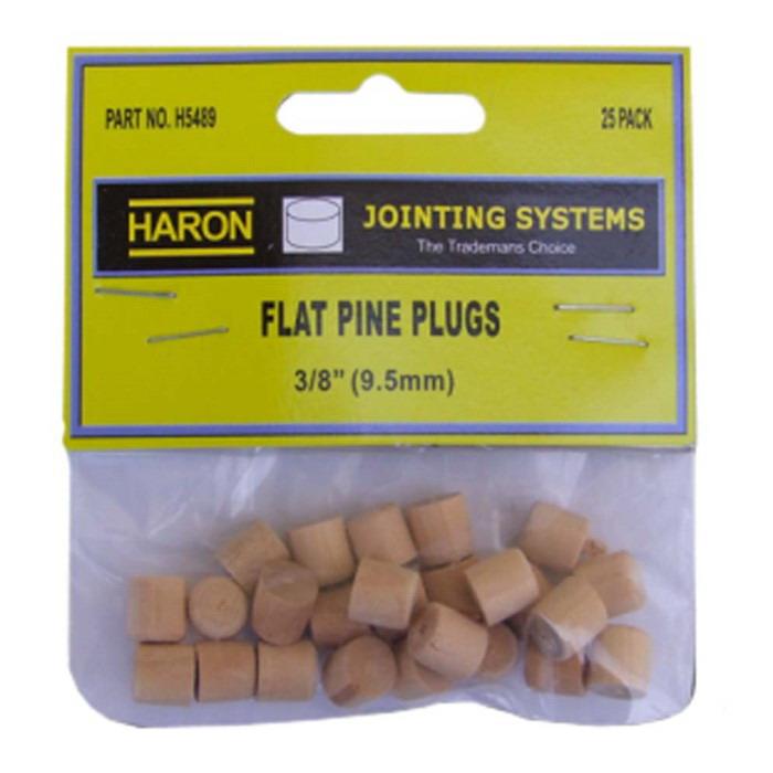 9.5mm Flat Pine Plug 25 pack