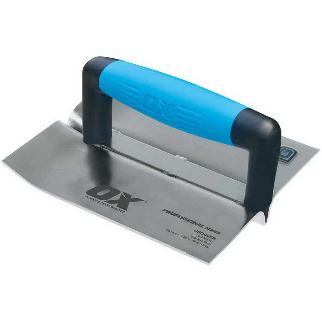 Professional 155 x 180mm Blade 20mm Groove Stainless Steel Groover