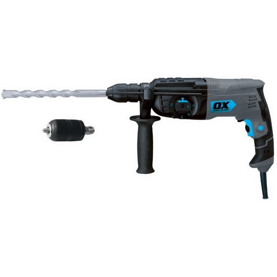 Sds Plus Rotary Hammer Drill 850W 2.3J 0-4700Ipm