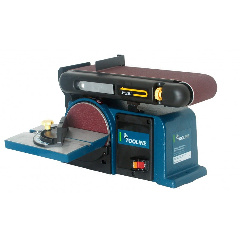 375W 100x914mm Belt & 150mm Disc Sander