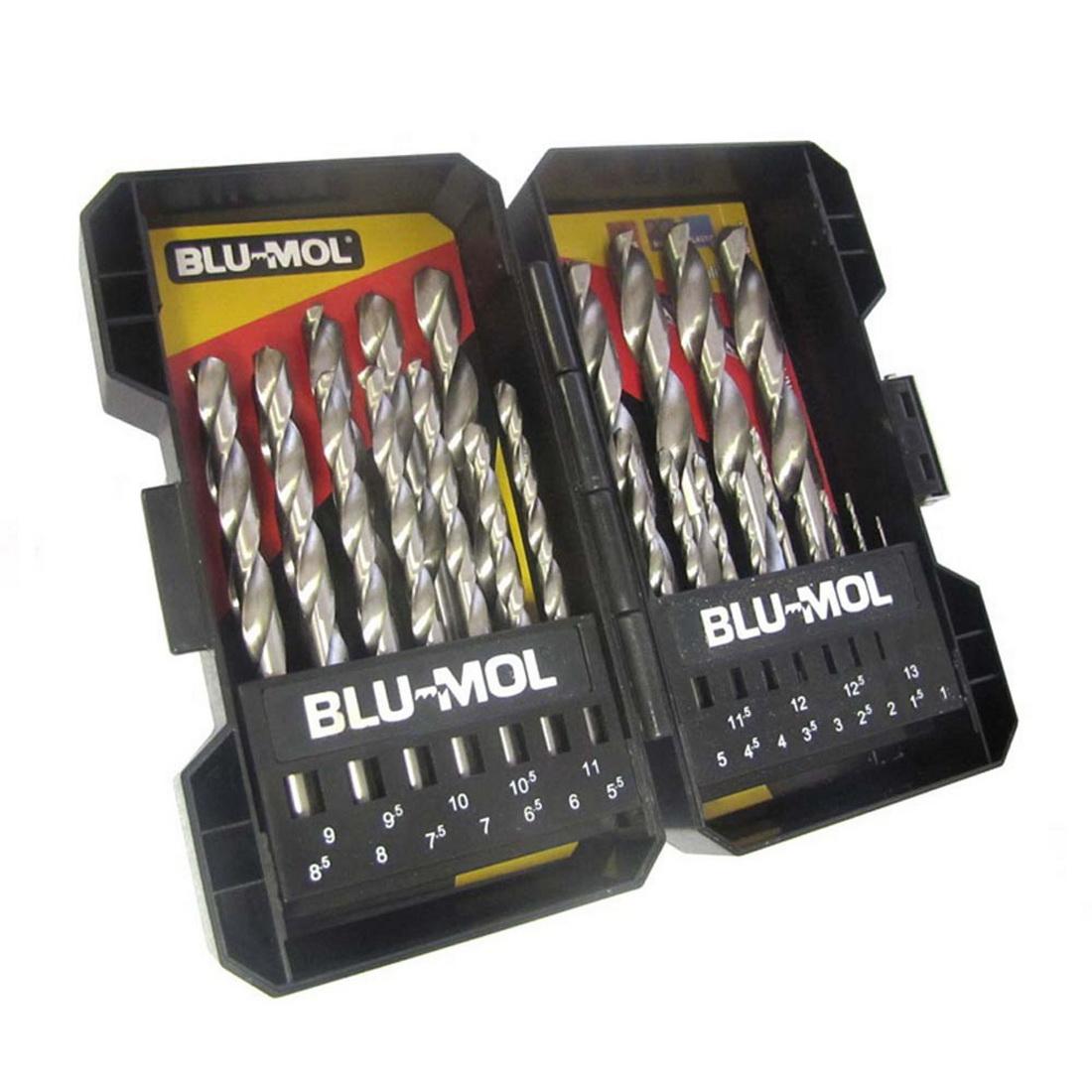 1-13mm 25-Piece Drill Bit Set