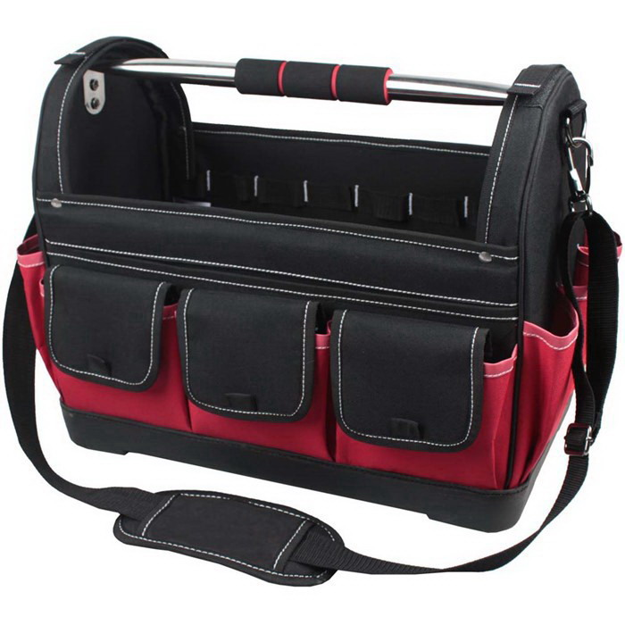 44 x 28 x 32cm Tool Bag Carrier With Rubber Base