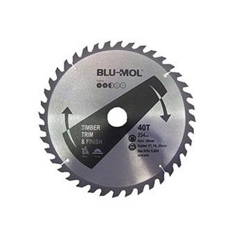 254 x 30mm 40TPI Circular Saw Blade