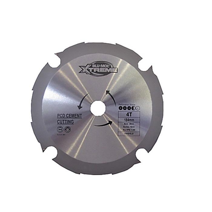 Xtreme 165 x 20mm x 4T PCD Cement Circular Saw Blade