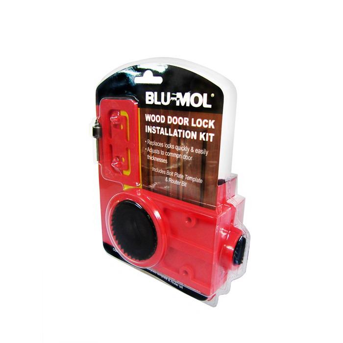 BL6580 Wood Door Lock Installation Kit