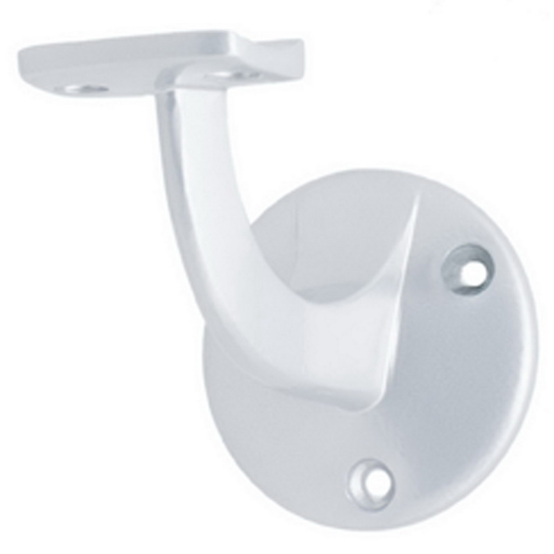 Round Base Bannister Bracket 55mm