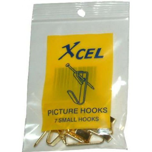 Single Picture/Mirror Hook Small 7 Pack