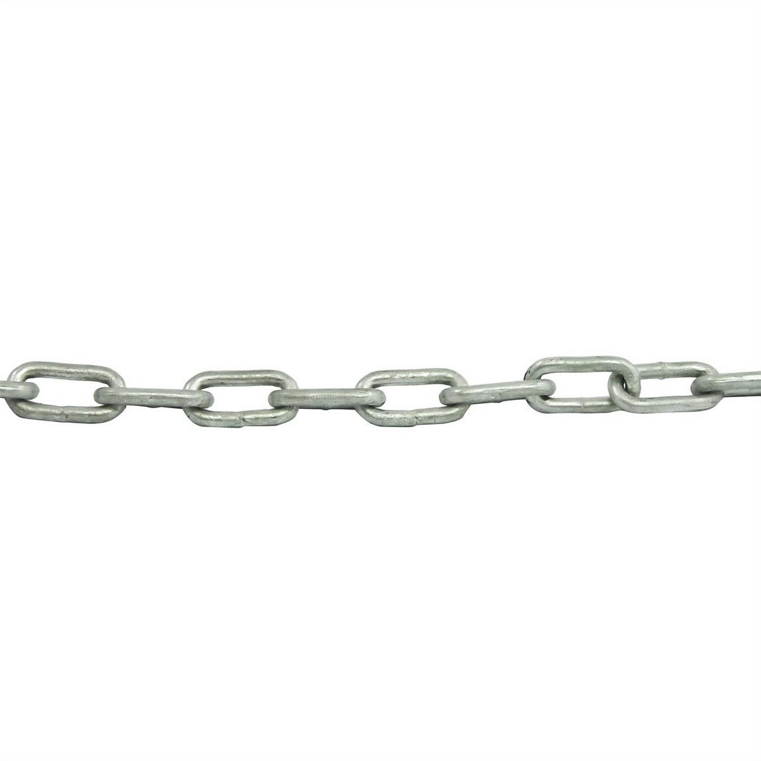 Welded Keg Chain 3mm x 75m 15kg Steel Galvanised JAG1604