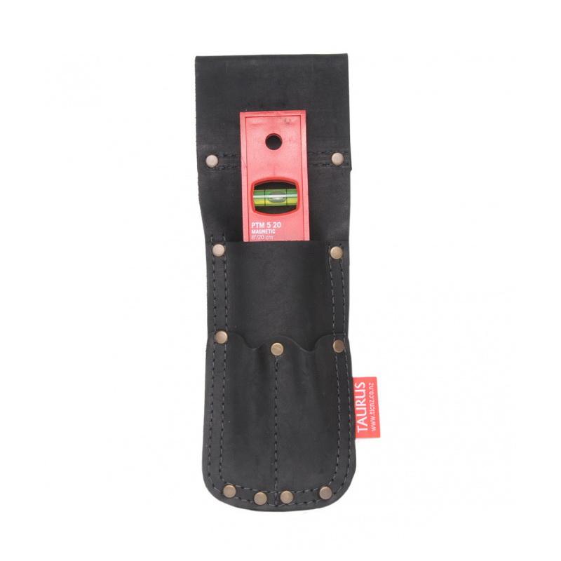 Torpedo Level Accessory Pouch Full Grain Leather TL321