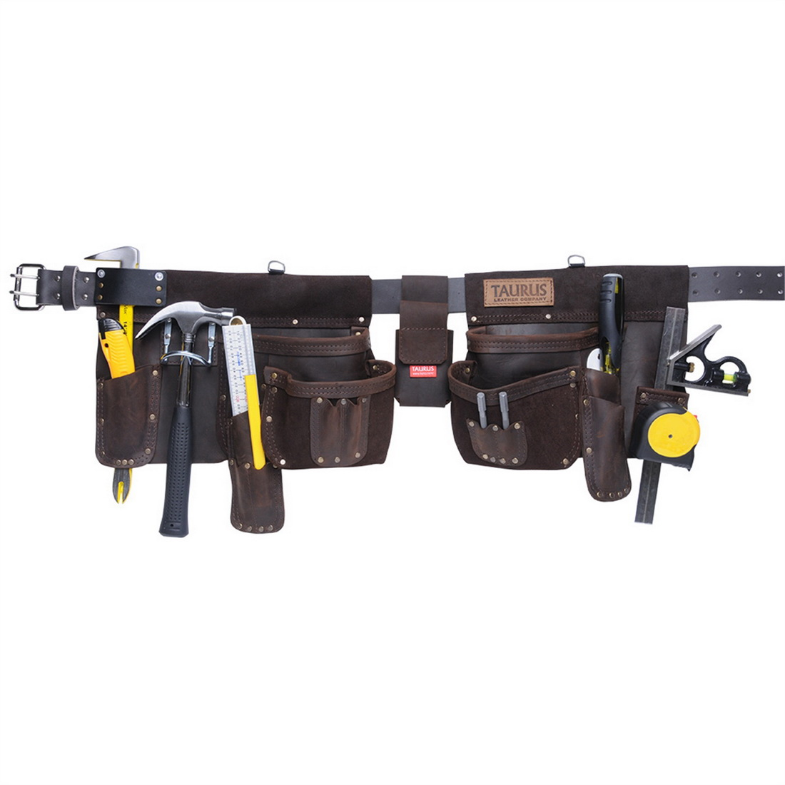Heavy Duty Super Yankee Tool Belt Apron Right Hand 50mm Leather 4 Pockets SY412R