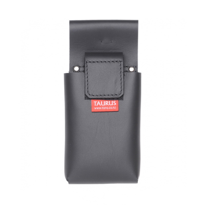 Large Phone Pouch 145 x 90 x 25mm Leather Black RUGGEDSP