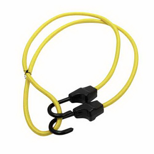 Supastrap Bungee Cord 1250 mm Polyster Braid/Plastic Coated Steel Hook SUPA125