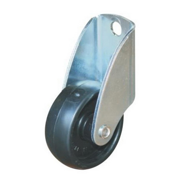 Fixed Gate Castor 50mm 40kg 53mm Offset Nylon GC50