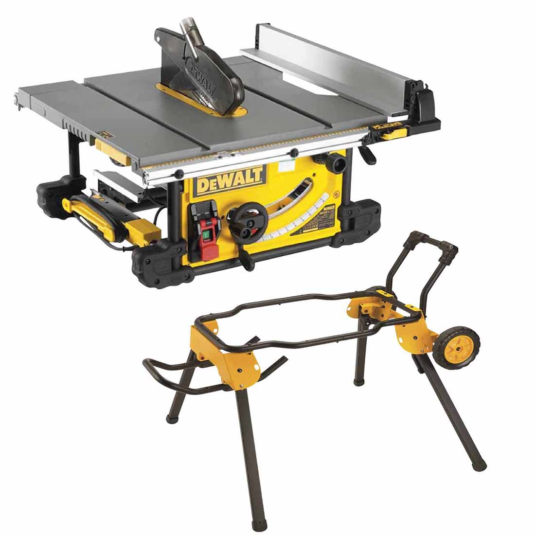 250mm Table Saw & Rolling Stand Combo