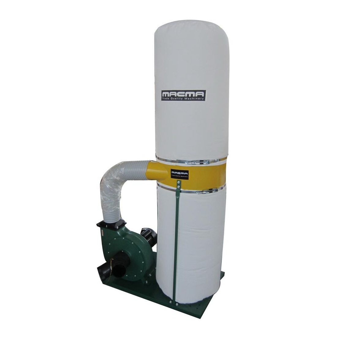 1500W 2hp 2 Bag Dust Collector