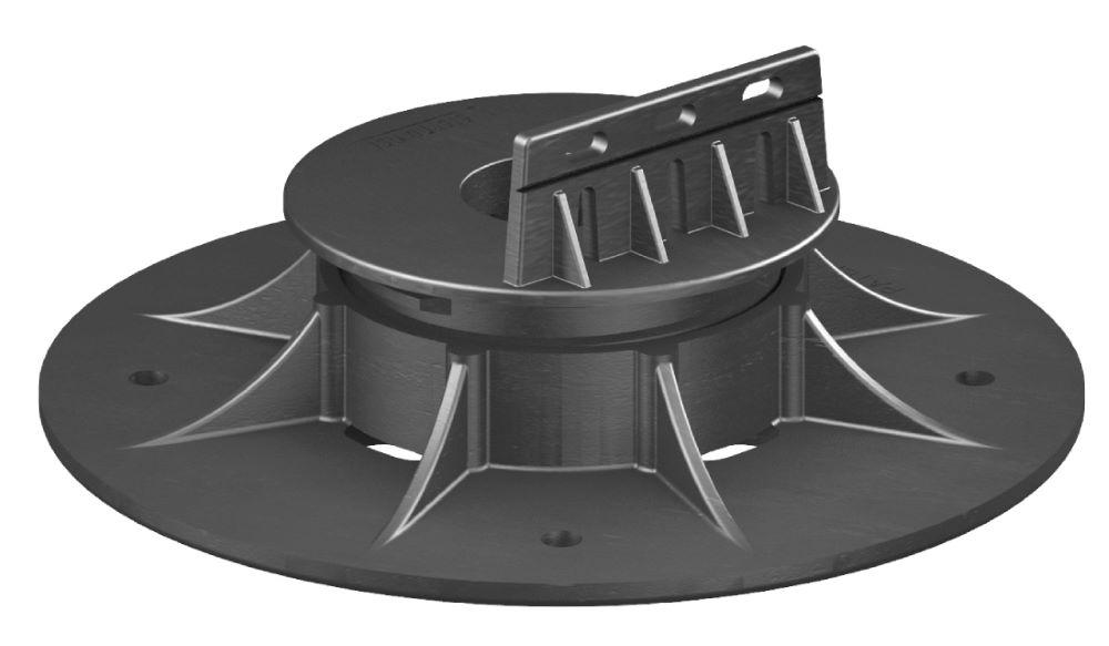Self-Leveling Swivel Head 37.5-50mm Black NJSE01