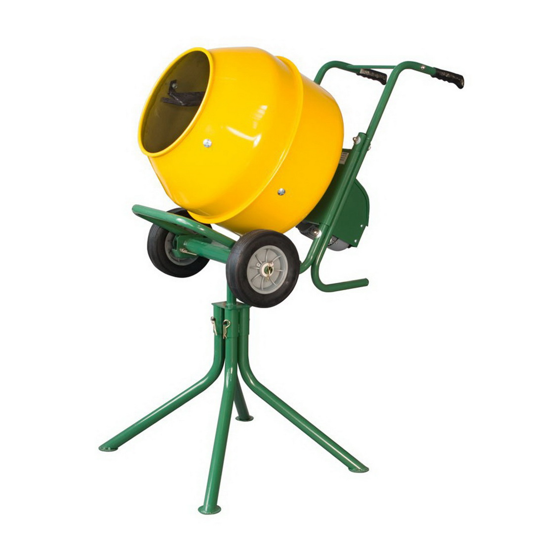 Electric Concrete Mixer On Stand 140L 0.5hp 23rpm PCM 5