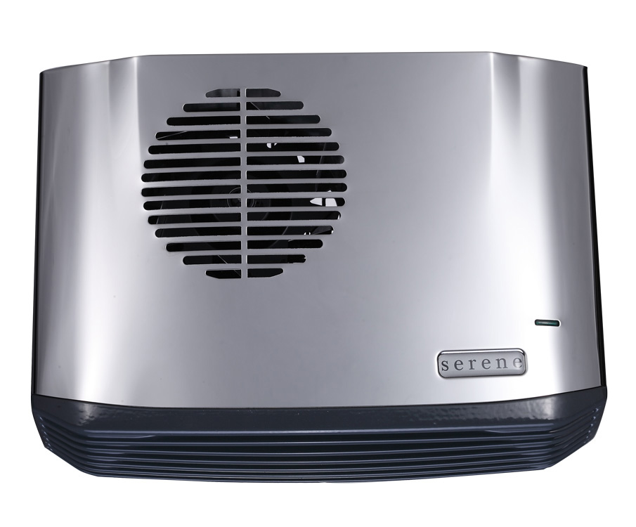 Classic 2.4kW Electric Bathroom Heater Stainless Steel