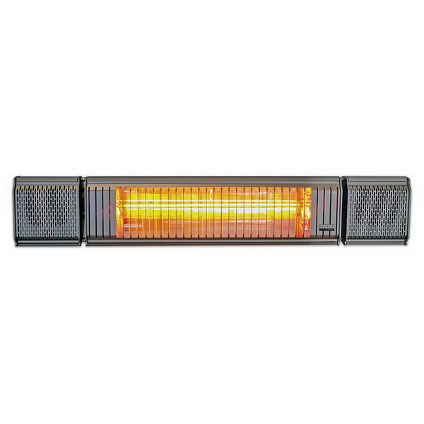 Heat & Beat 2kW Outdoor Electric Heater with Bluetooth Speakers