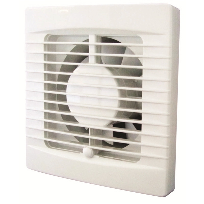 Classic Standard Profile 100mm Wall/Ceiling Mount Exhaust Fan White