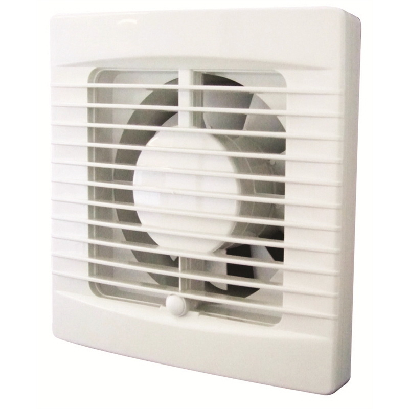Classic Standard Profile 150mm Wall/Ceiling Mount Exhaust Fan White
