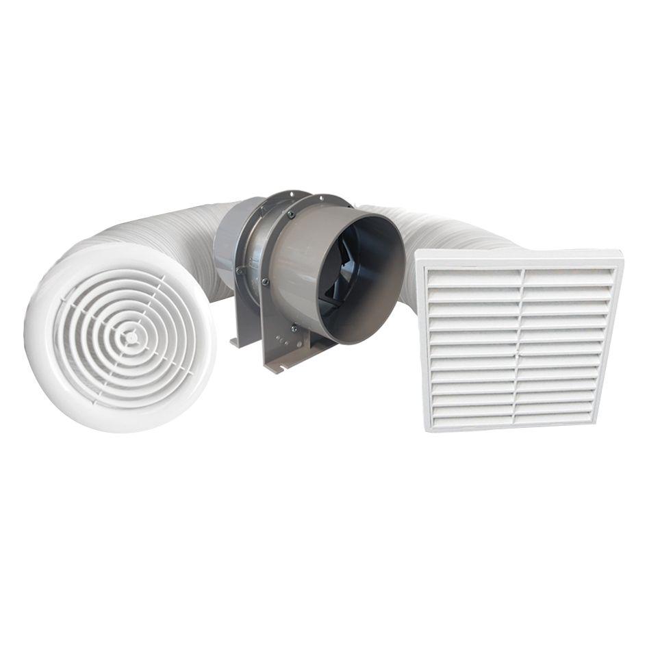 150mm Shower Extraction Fan Kit
