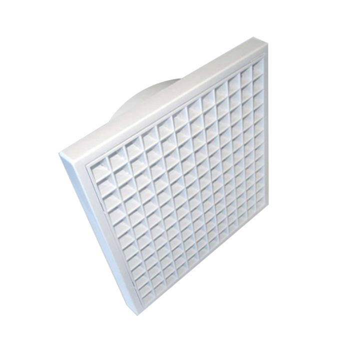 155mm Wall/Ceiling Eggcrate Grille White