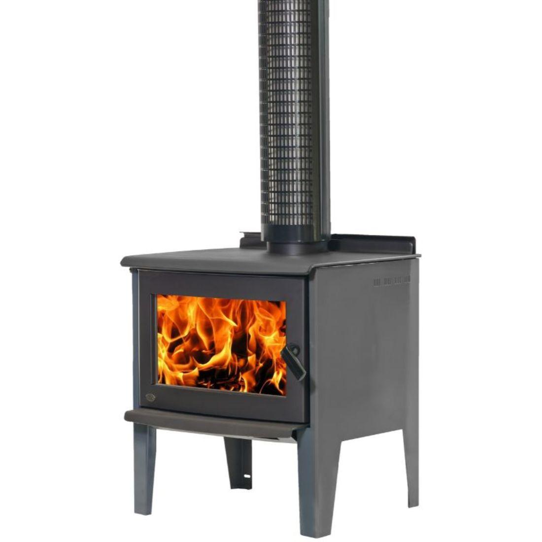 Monte Legs Clear Air Sub 1.0 Wood Burner