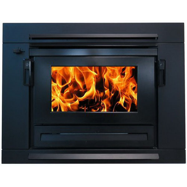 Yunca Xander 18kW Insert Wood Fire Black