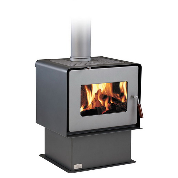 Woodsman Flare 17.1kW Wood Fire with Pedestal Charcoal