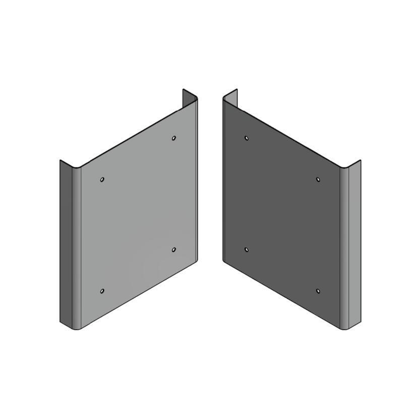 Woodsman ECR Novo Side Panels Metallic Brown