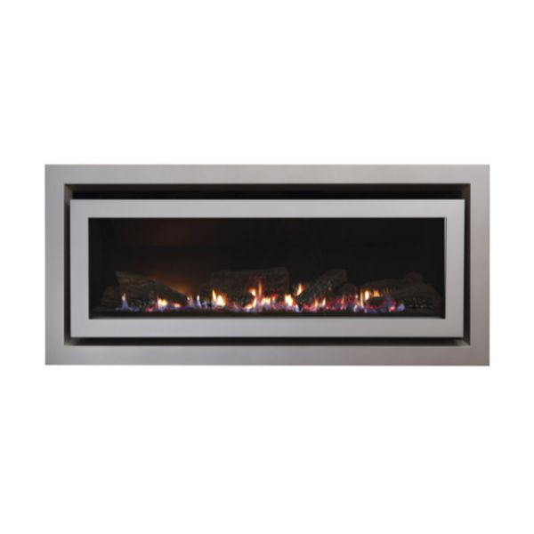 DL850 NG/LPG Hi Efficiency Gas Fireplace
