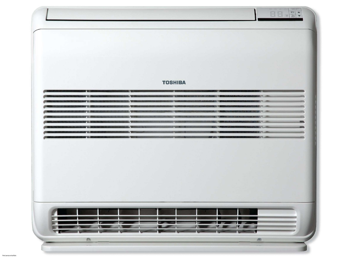 Toshiba UFV18 5.8kW Heat / 4.9kW Cool Floor Console Heat Pump
