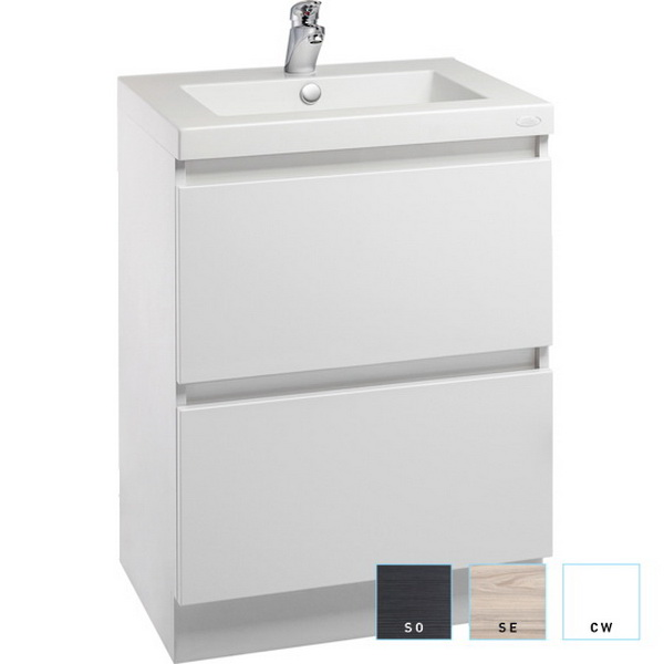 Valencia Wall Hung Double Bowl Vanity 1200mm High Gloss White
