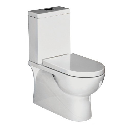 Progetto Nova Back To Wall Toilet Suite Comes with Soft Close Seat White NOV1000