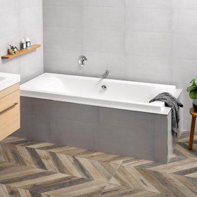 Liquid Inset Bath Tub 1800x800x475x450mm Lucite Acrylic