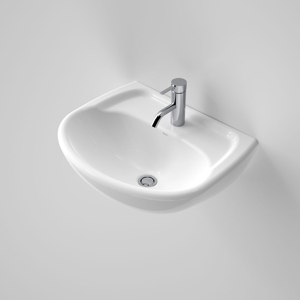 Caravelle Wall Basin 1 Tap Hole 639050W