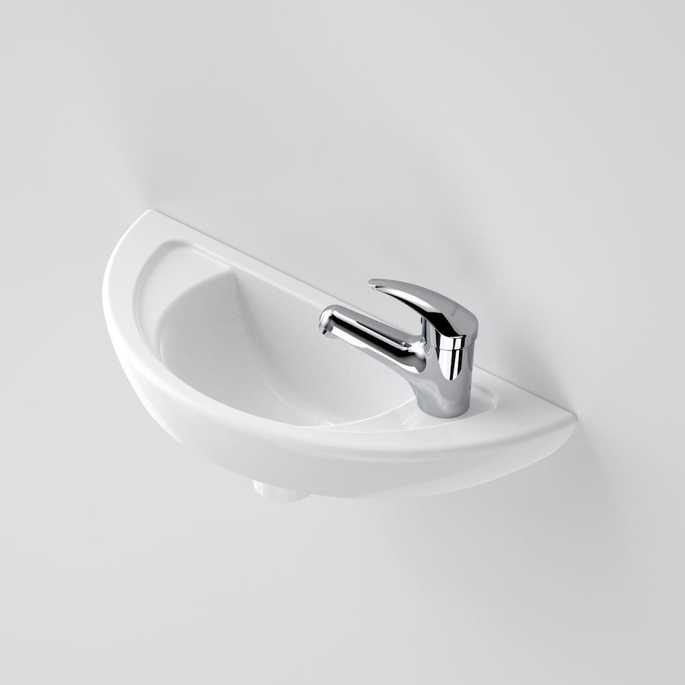 Compact Wall Basin 1 Tap Hole 635115W