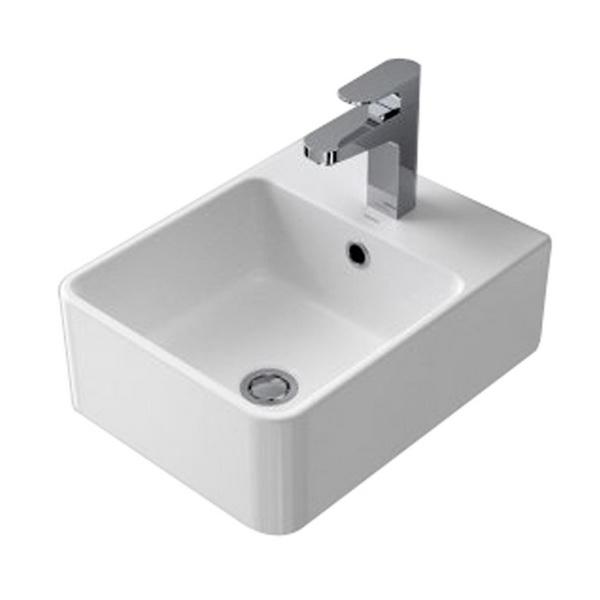 Cube Wall Basin 1 Tap Hole 683515W