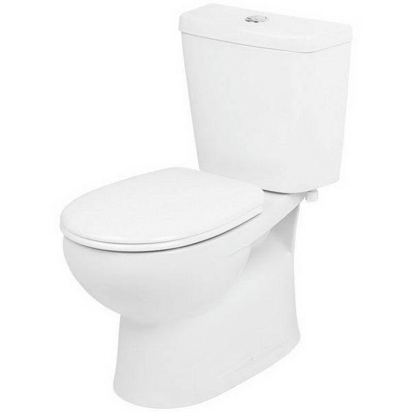 Venecia Close Coupled Toilet Suite 4.5/3L 367 x 665 x 755mm S Trap Vitreous China White
